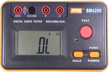 BM4200 接地电阻表