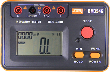 BM3546 2500V 绝缘电阻表